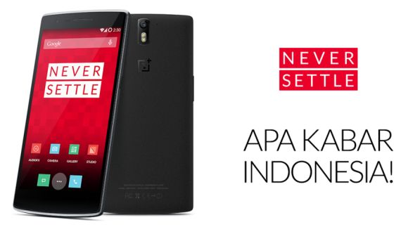 OnePlus One goes on sale in Indonesia next week. Still no news for Malaysia