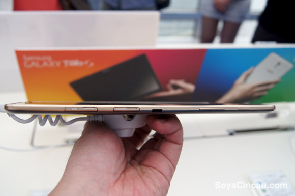 Samsung's new Tablet will be thinner than iPad Air 2?