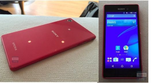 Strange, never before seen Xperia phone sighted ahead of MWC 2015