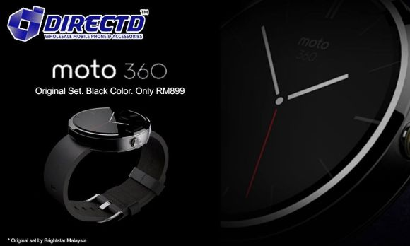 Moto 360 now available in Malaysia