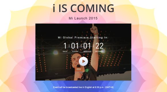 Xiaomi's new i Global Smart Phone launch will be streamed live