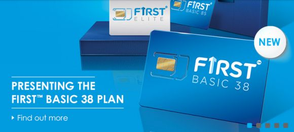 Celcom now offers First Basic 38 at RM38/month with 3GB of data