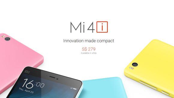Mi 4i goes on sale in Singapore next week. Priced below RM800.