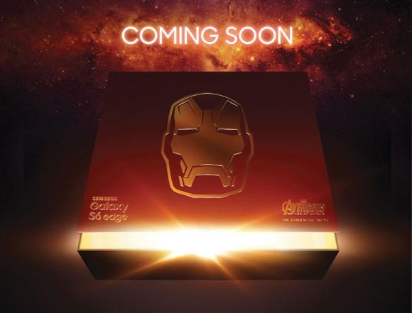 Samsung Galaxy S6 edge in Iron Man suit is coming soon