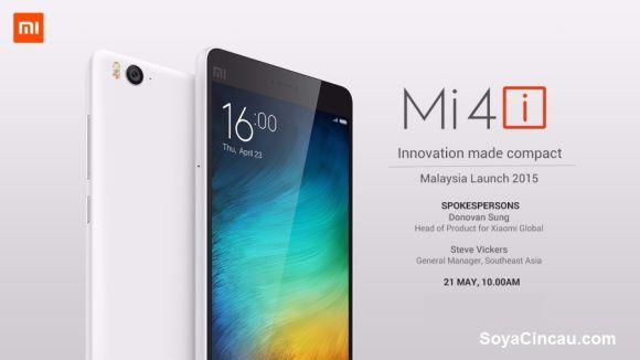 CONFIRMED: Xiaomi Mi 4i coming to Malaysia