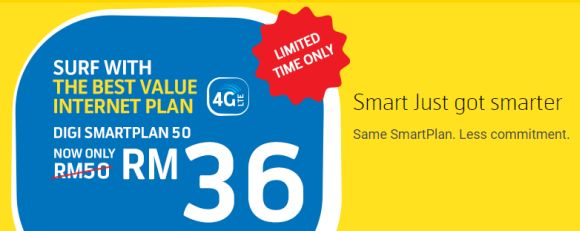 You can sign up for Digi's RM36 3GB postpaid plan online