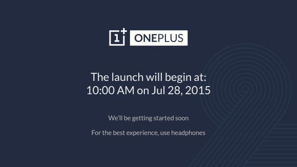 Watch the OnePlus 2 VR Global Launch tomorrow at 10AM