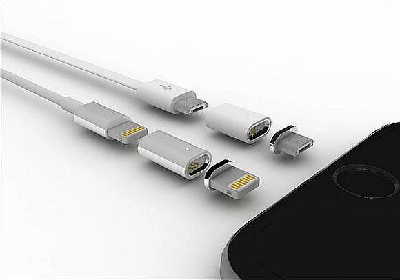 Give your phone reversible charging and MagSafe-like ...