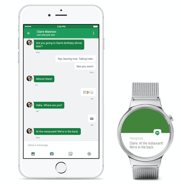 Android Wear now supported on the iPhone