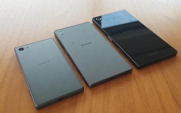 Check out the Sony Xperia Z5 series in its full glory