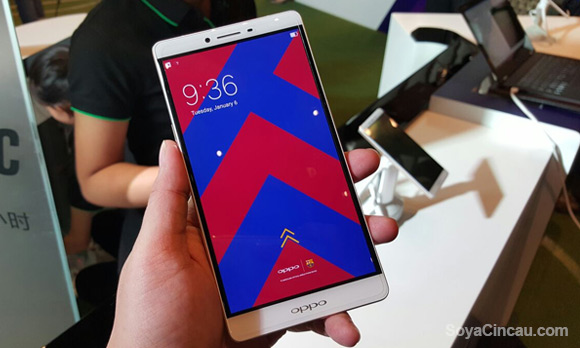 Hands-on: OPPO R7 Plus FC Barcelona Edition