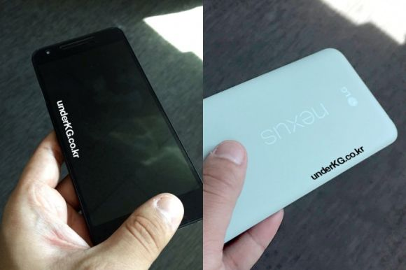 Soon to be announced Nexus 5 (2015) seen in a mint colour option