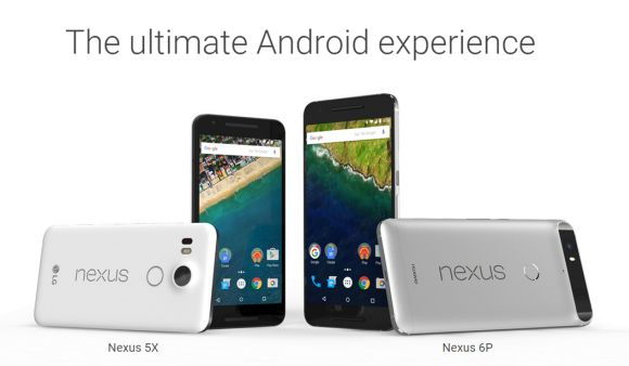 Google Nexus 5X and Nexus 6P announced with Marshmallow out of the box