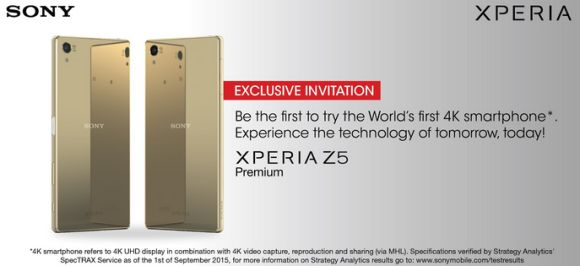 Sony Malaysia opens registration of interest for their Xperia Z5 line