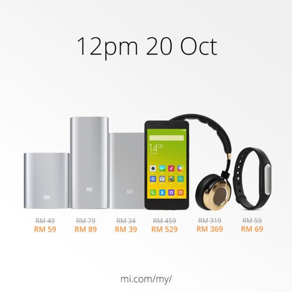 Xiaomi products are getting a price hike. You can still buy now at old prices