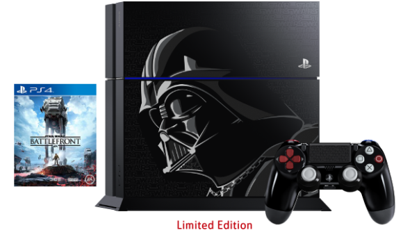 TM wants to help you get a limited edition Star Wars Battlefront PlayStation 4 bundle