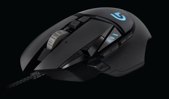 Logitech Proteus Core gaming mouse gets a nice upgrade