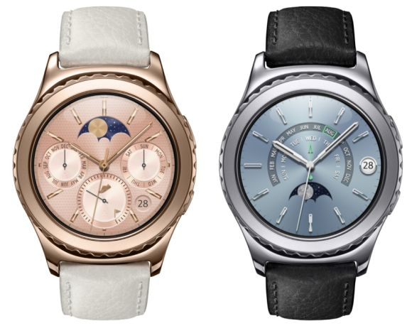 Samsung Gear S2 Classic now in Rose Gold and Platinum colours