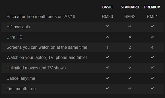 Netflix Premium Kosten