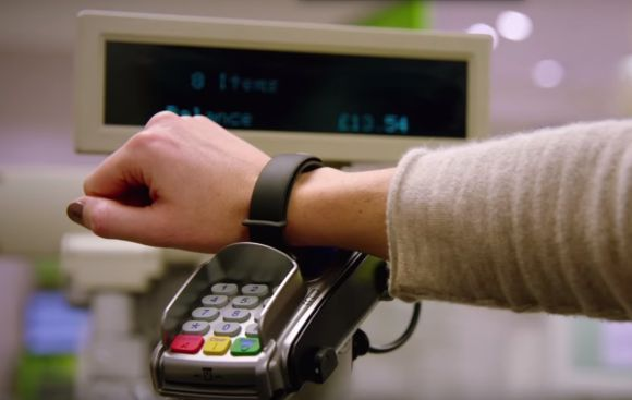 Maybank and Visa lets you make payments from your wrist