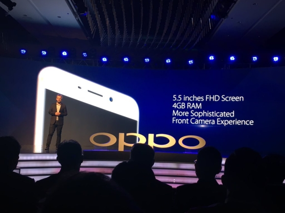 OPPO's F1 Plus emerges, carrying a better screen & more RAM