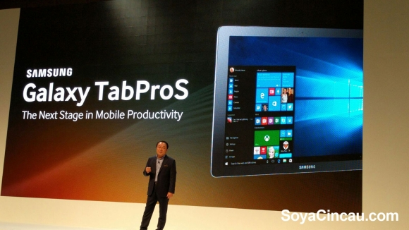 Samsung's answer to the 2-in-1 convertible, the Galaxy TabPro S is here in Malaysia