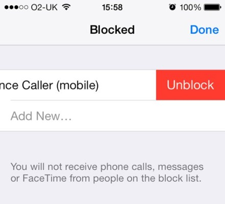 what happens when you block a number on iphone wondered what happens when you block a number on an 1743