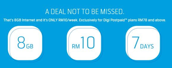 Digi lets you enjoy 8GB of data for only RM10