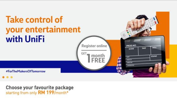TM UniFi Advance subscription now starts from RM199/month