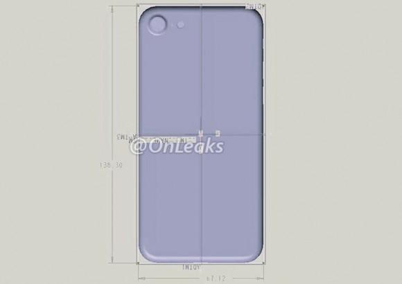 iphone 7 dimensions onleaks