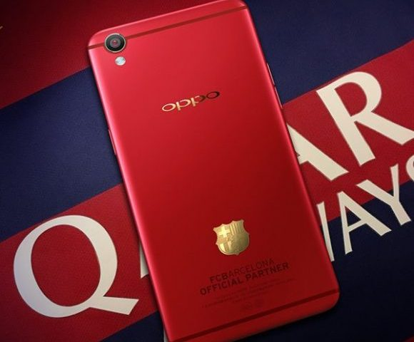 Oppo F1 Plus Barcelona Edition emerges, will be available in red and grey