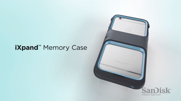 Expand your iPhone's internal storage with SanDisk's new case