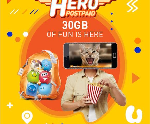 U Mobile introduces Hero P98 postpaid with 30GB data, unlimited video streaming and voice calls