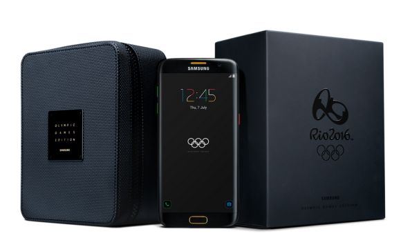 Samsung Galaxy S7 edge Olympic Games Edition is now official