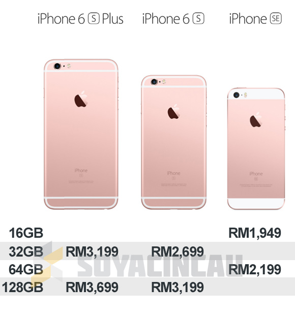 half off 1196a d4bc0 Apple reduces Malaysian pricing for iPhone 6s, 6s Plus and iPhone SE ...