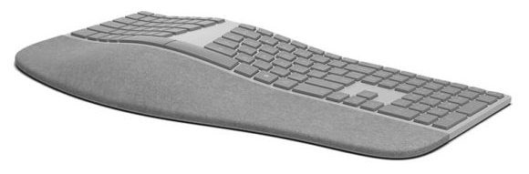 The new Surface Ergonomic Keyboard puts the soft in Microsoft