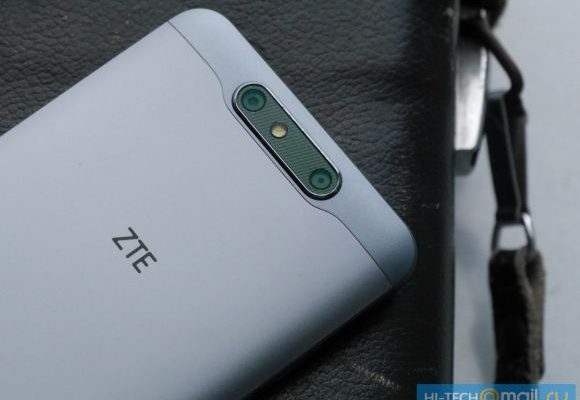 ZTE Blade V8 appears with a dual-camera set up