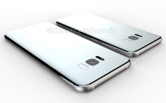 Here are fresh new renders of the Galaxy S8 and Galaxy S8 Plus