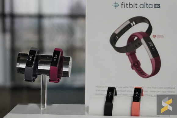 Fitbit's Alta HR packs a heart rate monitor, but is small