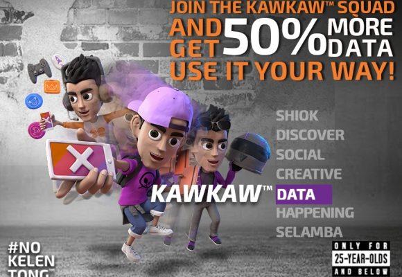 Xpax KAWKAW DATA gives users 50% extra data