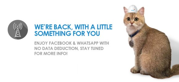 Celcom offers free Facebook and WhatsApp for a week due to service disruptions