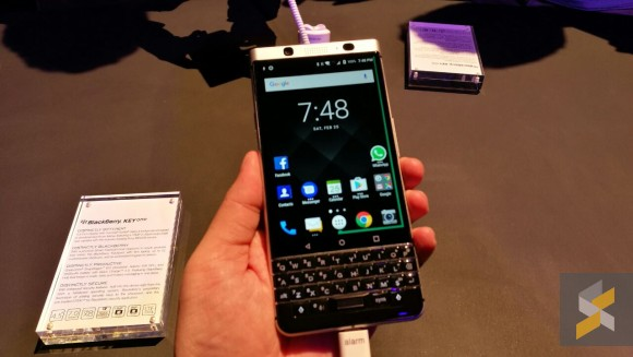 soyacincau report of Blackberry Key One