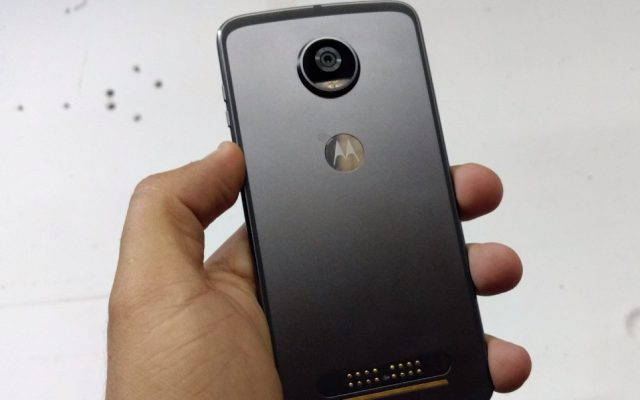 The Moto Z2 Play gets unboxed ahead of its launch