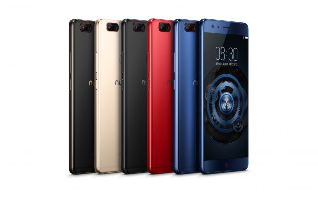 Nubia has a new flagship smartphone with 8GB RAM and Quick Charge 4+ support
