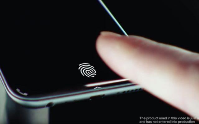 vivo shows off its under display fingerprint sensor