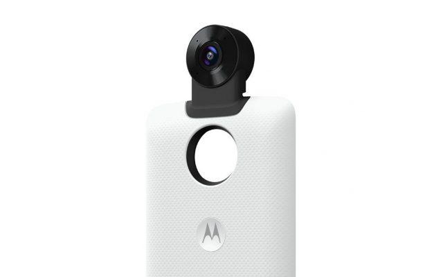 Motorola now has a 360 camera Mod for the Moto Z series