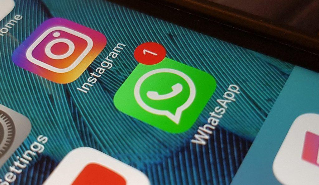 WhatsApp limits the number of times you can forward a message to five
