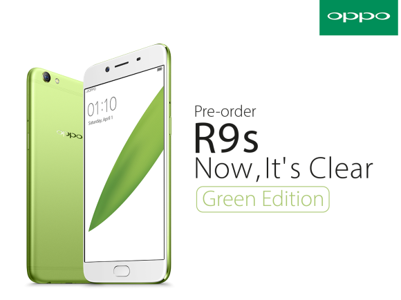 OPPO Malaysia R9s Green Edition