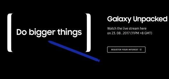 Samsung Galaxy Note8 Malaysia Registation