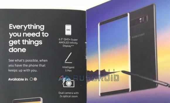 Samsung Galaxy Note8 Brochure